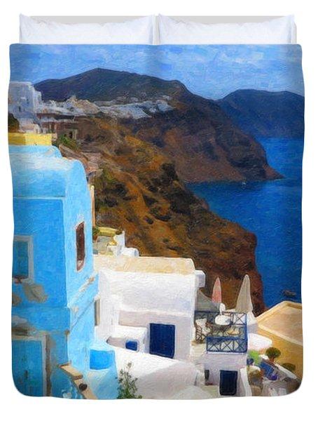 Santorini Grk2806 Duvet Cover