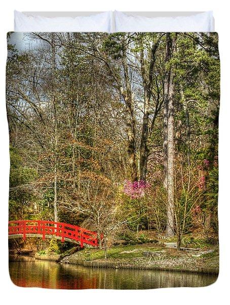 Sarah P. Duke Gardens Duvet Cover by Benanne Stiens