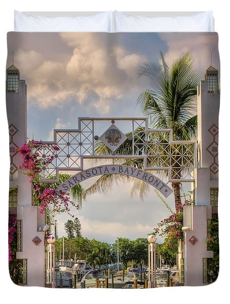 Sarasota Bayside Duvet Cover