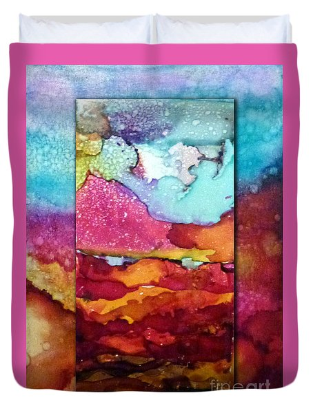 Sarasota Sunrise Duvet Cover