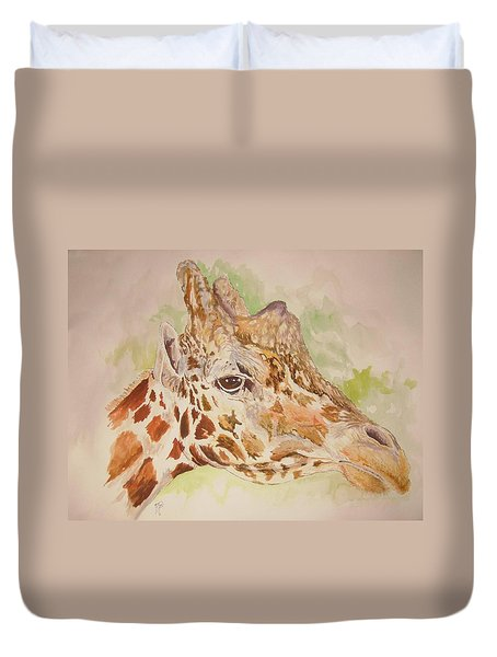 Savanna Giraffe Duvet Cover