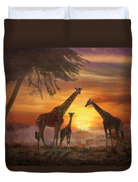 Savanna Sunset Duvet Cover