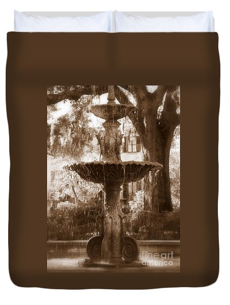 Savannah Romance Duvet Cover by Carol Groenen