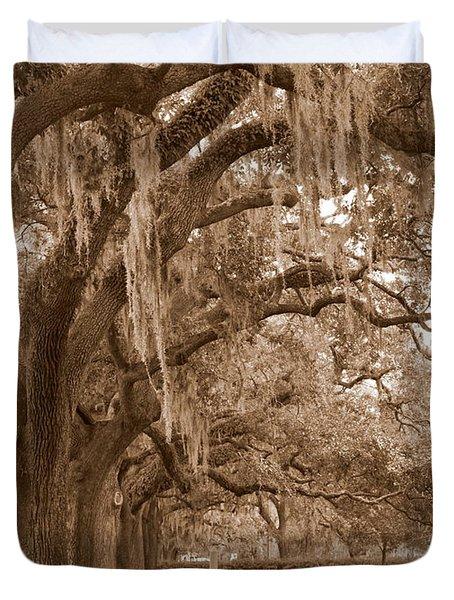 Savannah Sepia - Emmet Park Duvet Cover by Carol Groenen