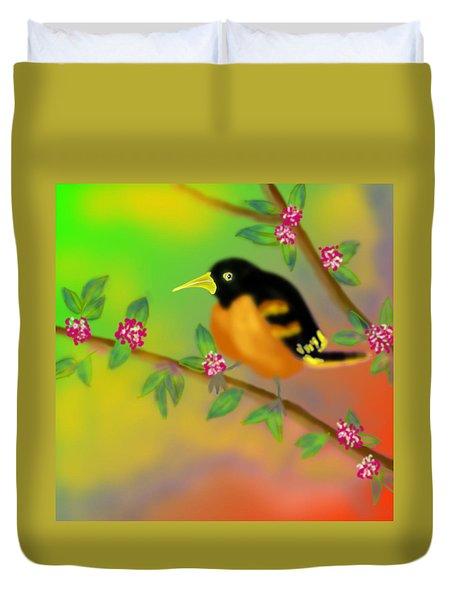 Duvet Cover featuring the digital art Save My Beautiful World by Latha Gokuldas Panicker