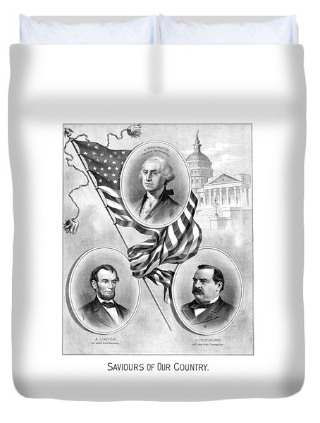Saviours Of Our Country  Duvet Cover by War Is Hell Store