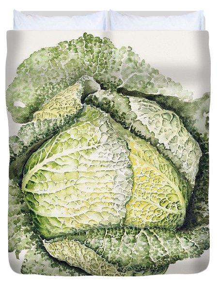 Savoy Cabbage  Duvet Cover