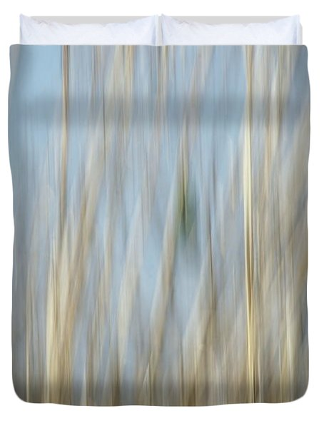 Sawgrass In Motion Duvet Cover by Benanne Stiens