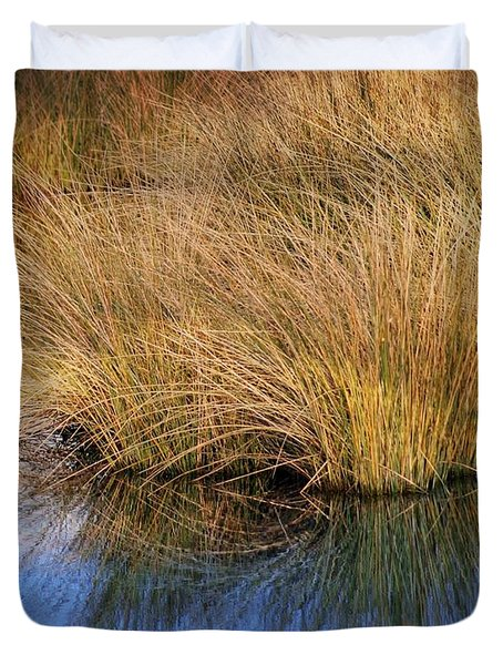 Sawgrass Duvet Cover by Marty Koch