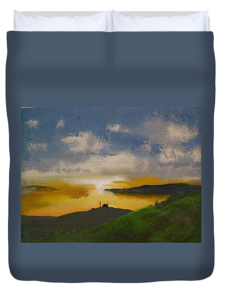 Saxa Vord Radar Station Duvet Cover