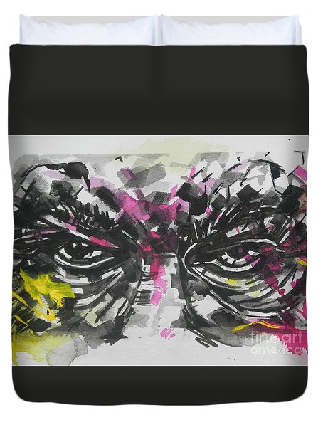 Say No To Bullies   Duvet Cover