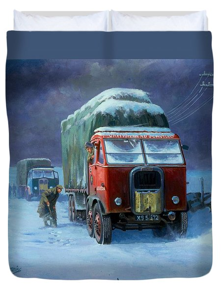 Scammell R8 Duvet Cover by Mike  Jeffries