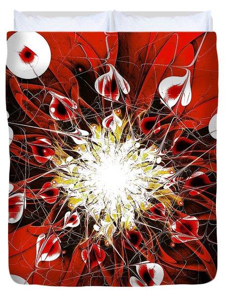 Scarlet Duvet Cover by Anastasiya Malakhova
