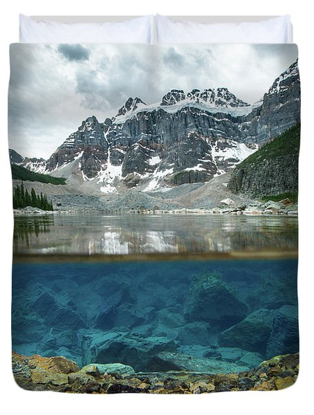 Scenes From Consolation Lake Duvet Cover