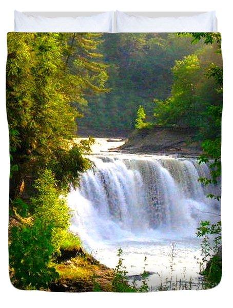 Scenic Falls Duvet Cover