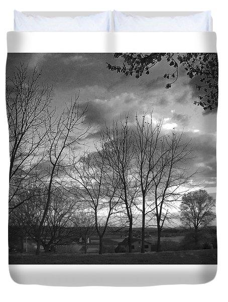 Scenic Lancaster County Duvet Cover