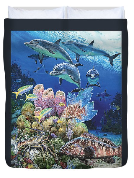 Scenic Route Re006 Duvet Cover by Carey Chen