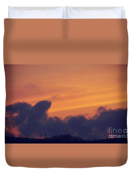 Scenic Sunset Duvet Cover