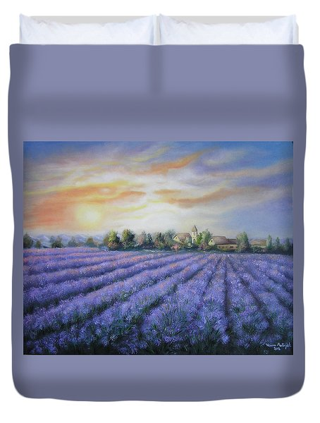 Scented Field Duvet Cover by Vesna Martinjak