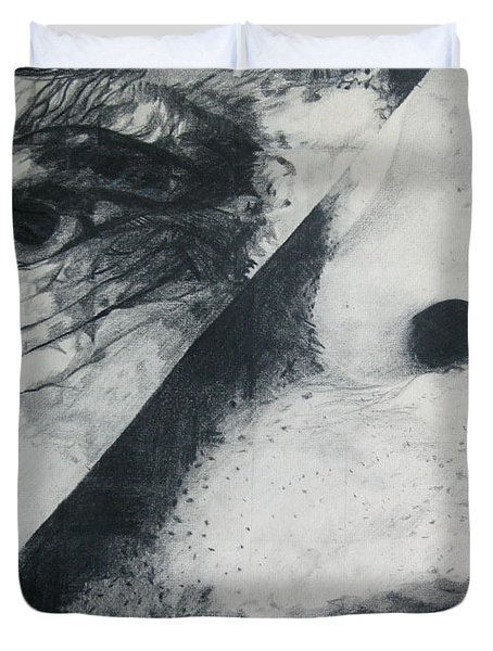 Schism Duvet Cover by Rory Sagner