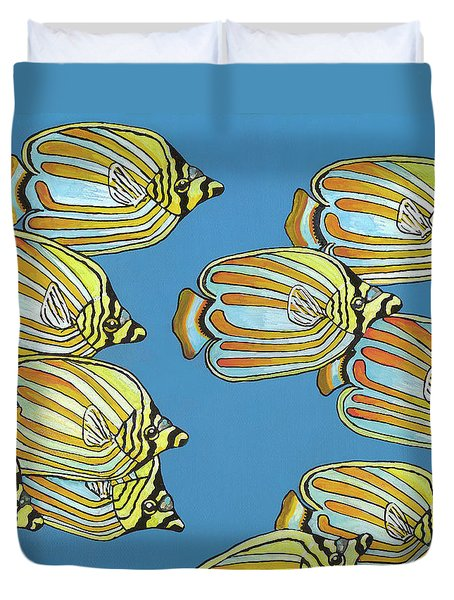 School Is In Session Duvet Cover