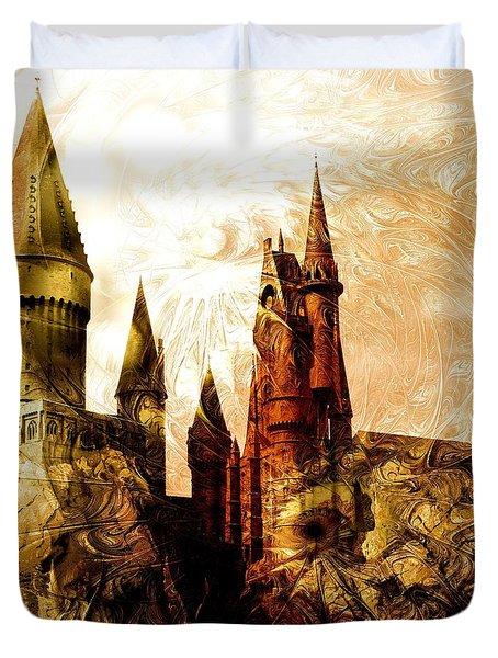 School Of Magic Duvet Cover