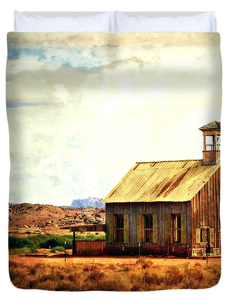 Schoolhouse 1 Duvet Cover by Marty Koch