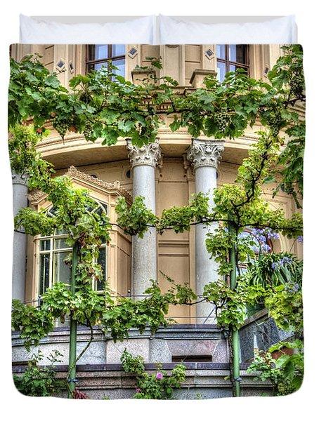 Schwerin Castle Windows. Duvet Cover