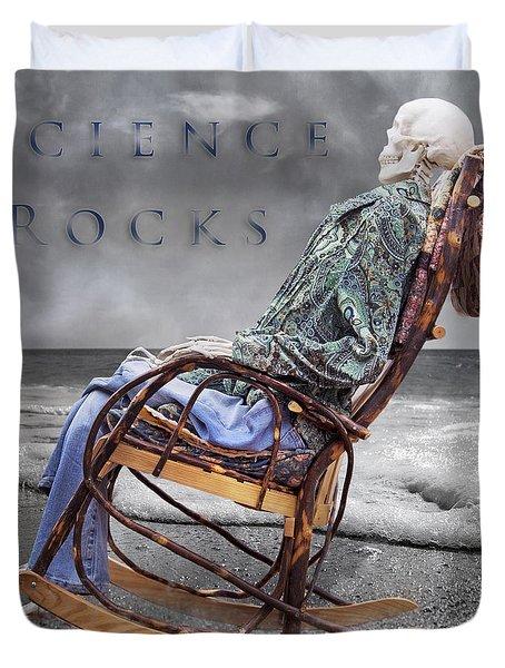 Science Rocks Duvet Cover
