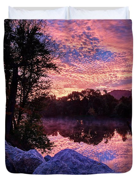 Scioto Sunrise Duvet Cover