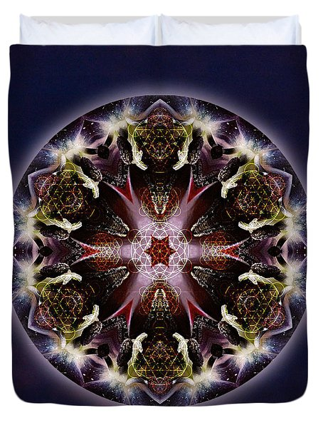 Scorpio Moon Warrior Duvet Cover