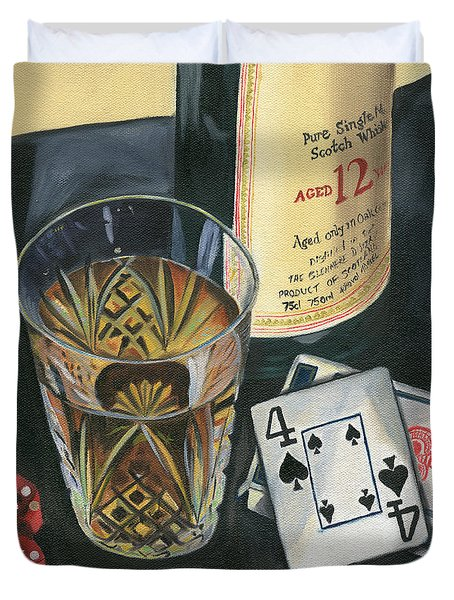 Scotch And Cigars 2 Duvet Cover