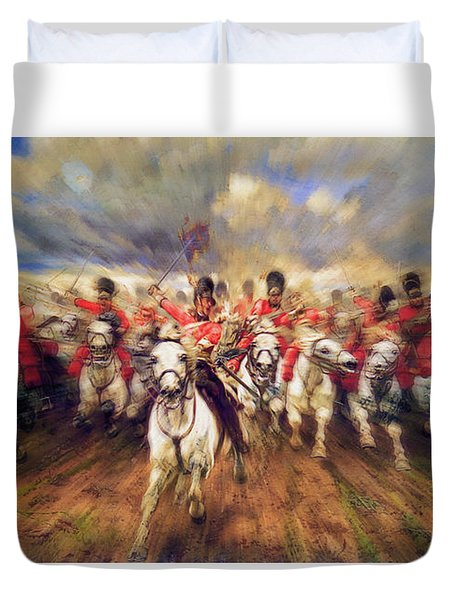 Scotland Forever During The Napoleonic Wars Duvet Cover