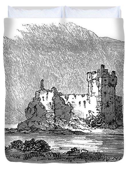 Scotland Loch Awe, 1871 Duvet Cover