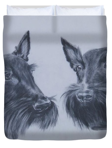 Scotties Duvet Cover