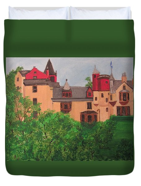 Scottish Castle Duvet Cover