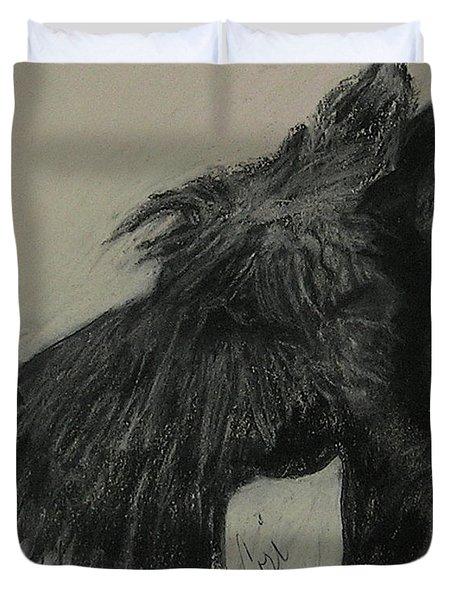Scottish Delight Duvet Cover by Cori Solomon