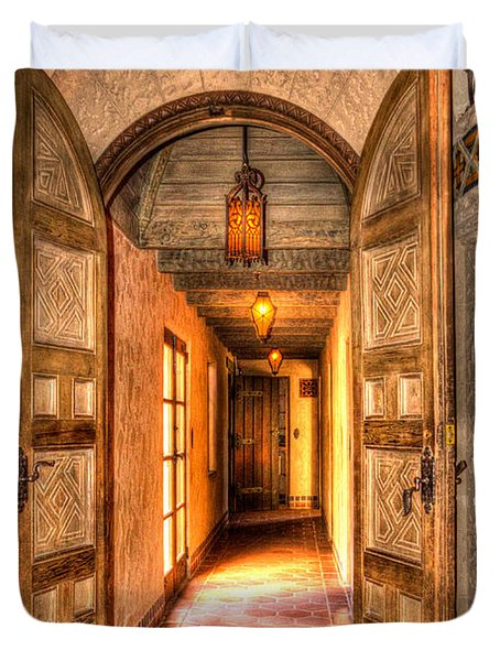 Scotty's Castle  Duvet Cover by Heidi Smith
