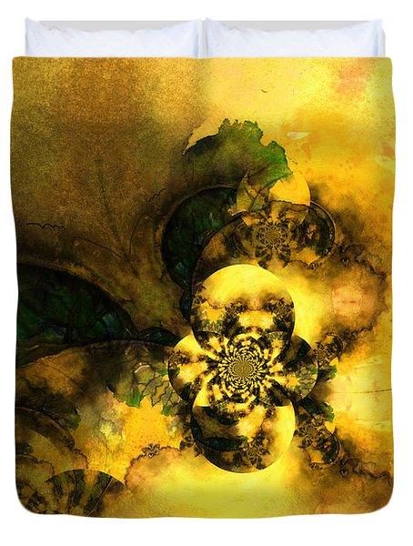 Scream Of Nature Duvet Cover by Miki De Goodaboom
