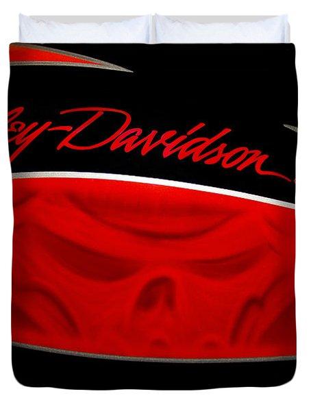 Harley Boo Duvet Cover