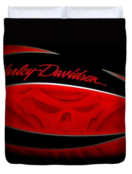 Harley Boo Duvet Cover by Patti Deters