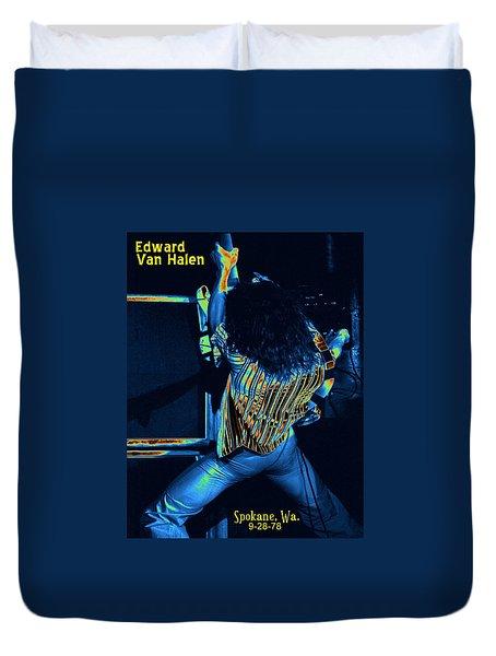 Screaming Guitar Duvet Cover by Ben Upham