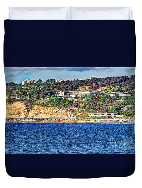 Scripps Institute Of Oceanography Duvet Cover