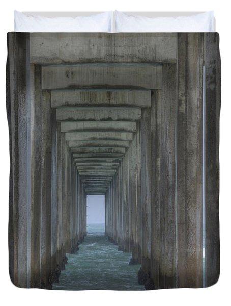 Scripps Pier La Jolla California 3 Duvet Cover