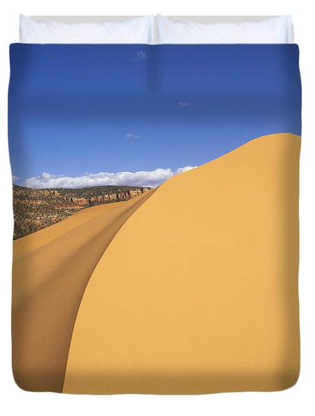 Sculpted Sand Duvet Cover