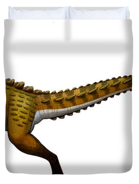 Scutellosaurus, An Early Jurassic Duvet Cover by H. Kyoht Luterman
