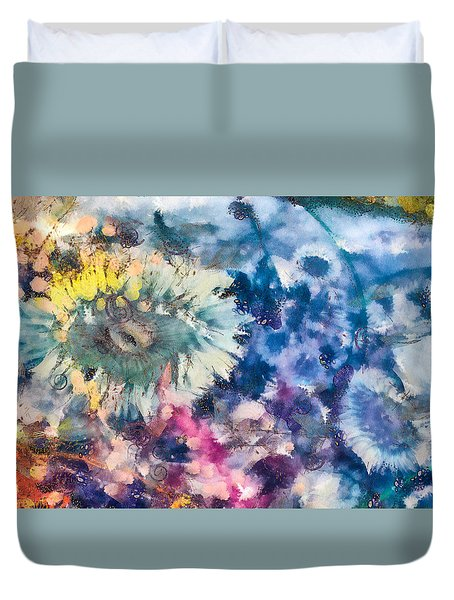 Sea Anemone Garden Duvet Cover