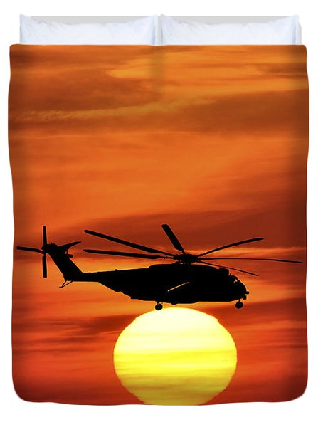 Sea Dragon Sunset Duvet Cover by Al Powell Photography USA