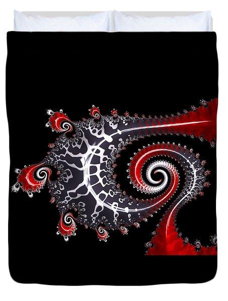Sea Dragon Duvet Cover by Susan Maxwell Schmidt