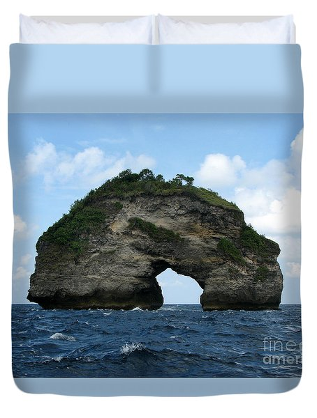 Sea Gate Duvet Cover by Sergey Lukashin